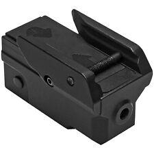 NcSTAR VISM KeyMod/Weaver Mount Compact Low Profile Pistol Green Laser w/ Strobe