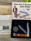 WESTERN USA CAMILLUS TEXAS RANGER KNIFE. NOS