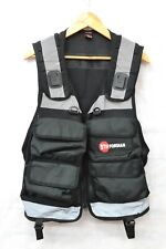 SECURITY NITON TACTICAL BLACK VEST SIZE XL ##MANCL13A
