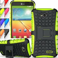 Shockproof Heavy Duty Rugged Armor Protector Kick Stand Case Cover For LG Phone