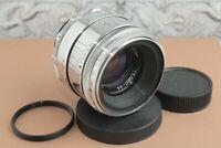 HELIOS 44 Silver 13 petal, Soviet lens for Canon, Nikon, Sony, Fuji