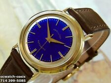 1960's Vintage HAMILTON AUTOMATIC ,  Stunning Blue Dial, Serviced & Warranty