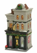 """Dept 56 Christmas in the City """"MAGGIE'S ON PARK"""" NIB 2017 FREE SHIPPING"""