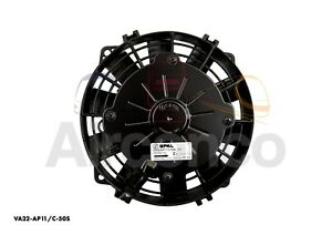 "Spal Axial Fan, VA22-AP11/C-50S, 12v (Push) 6.5"" (167mm) - Genuine Product!"