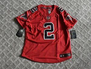 NWT Women's Nike Atlanta Falcons Matt Ryan #2 Red Vapor Color Rush Jersey Medium