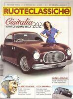 RUOTECLASSICHE FEBBRAIO 2001 - FERRARI 208 308 328 GTB GTS - CISITALIA 202