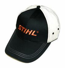 STIHL Contrast Stitch Cap / Hat - Black & Beige