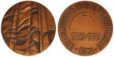 MEDAGLIA ROMA 1923-1973 GRUPPO MEDAGLIE D'ORO AL VALORE MILITARE #PL42