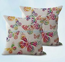 US SELLER, 2pcs cushions and pillows butterfly cushion cover