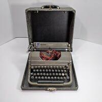 Vintage Antique Underwood Champion Typewriter With Case