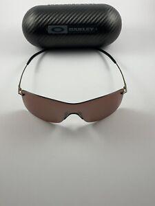Oakley Nanowire 3.0 Brown Chrome VR28 Black Iridium Polarized 12-920 GI Joe