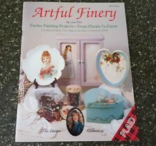 Artful Finery by Lisa Price Decorative Painting Plaid 12 Projects Florals Faces