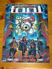 TOOL - 2013  Australia  Tour - SYDNEY EXCLUSIVE  Laminated Promotional Poster