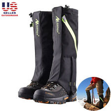 Snow Snake Waterproof Hiking Hunting Research Legging Gaiters Boot Cover Nylon