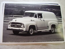 1956 FORD F100 PANEL TRUCK  11 X 17  PHOTO  PICTURE
