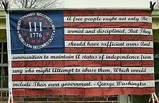 Betsy Ross 3'X5' George Washington Tyranny Flag Patriotic 13 Star Banner & Plain