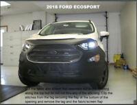 Lebra Front End Mask Cover Bra Fits FORD EcoSport 2018-2020 18 19 20