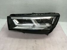 2017 2018 AUDI Q5 LEFT DRIVER LED HEADLIGHT  OEM