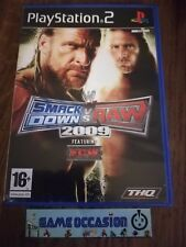 SMACK ABAJO VS RAW 2009 PS2 PLAYSTATION 2 SONY COMPLETO PAL
