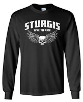 Sturgis LONG SLEEVE T-shirt - Harley Davidson Sturgis Biker