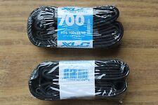 "(Qty 2) 700x35/38/40/43/45/48c XLC Bike Tubes 48mm Threaded Presta 27"" x 1-3/8"""