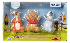 TOMY DISNEY WINNIE THE POOH AND FRIENDS FIGURINES 3 PACK BRAND NEW
