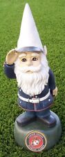 "Garden Accent Extra Large Military Gnome U S Marine Corps Lawn USMC NEW 13"" tall"