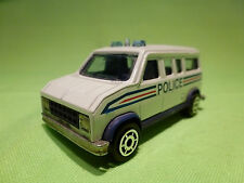 MAJORETTE  279 - 234 FOURGON - POLICE POLIZIA POLITIE - IN VERY GOOD CONDITION