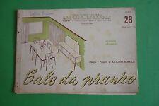 CATALOGHI ARTISTICI PER MOBILI 28/1957 SALE DA PRANZO PROGETTI ANTONIO BORRELLI