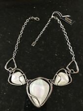 August Woods triple moonstone necklace (New)