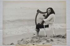 Alan Stivell - Harpe celtique et Méditerranée - Photo AFP - 1972