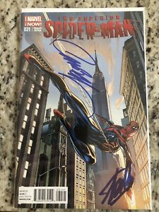 SUPERIOR SPIDER-MAN #31 J SCOTT CAMPBELL VARIANT SIGNED CAMPBELL & STAN LEE