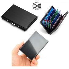 Men Stainless Steel Card Holder Wallet Money Clip Cash Slim Pocket Card Case L7