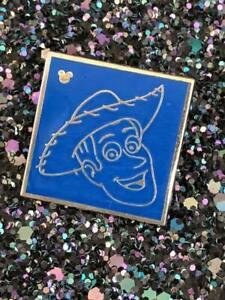 Disney TRADING PIN Woody Toys Story Square DISNEYLAND world