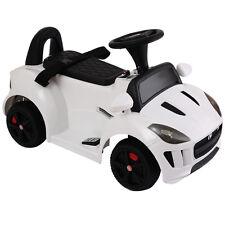 New JAGUAR F-TYPE 6V Electric Kids Ride On Car Licensed MP3 Battery Power White