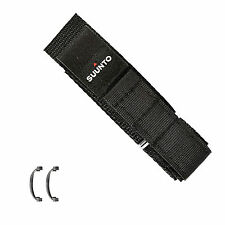 Suunto  watch band   Black Fabric Vector  20mm strap with 2 attachment