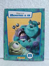 ALBUM PANINI Monstres & CIE COMPLET Vignettes Goldorak Disney Pixar autocollant