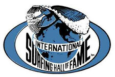 Intl. Surfing Hall Of Fame  Vintage-Style Travel  Decal