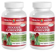 Diet Supplement Hoodia Gordonii Cactus 2000mg Natural Weight Loss (2 Bottles)