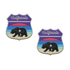 Oversized California Sunset Tennis Vibration Dampener by Racket Expressions