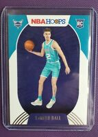 NBA HOOPS LAMELO BALL 2020-21💎 Rookie Card RC #223 Hornets🐝 Sharp Corners Z
