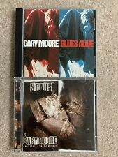 Gary Moore 2 CD Lot - Scars & Blues Alive - Blues