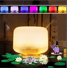 Ultrasonic Essential Oil Aroma Diffuser Mist Humidifier 7 Colors LED Light & RC
