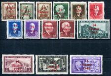 BESETZUNG IIWK ALBANIEN 1-14 ** POSTFRISCH TADELLOS 480€(S3870