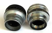 Two lenses: Industar-61L/D and Industar-26m for Kiev/Contax RF cameras