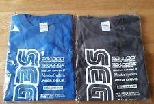 Lot de 2 t-shirt SEGA AGES 2500 MEGADRIVE, MASTER SYSTEM, GAME GEAR, 32X...