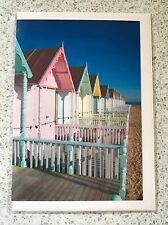 Beach Huts - 3 x Greeting Cards (free delivery)