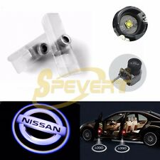 2X Car CREE LED Ghost Shadow Laser Projector Welcome Logo Lights Lamp For Nissan