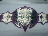 TNA JEFF HARDY IMMORTAL Heavyweight Championship Belt Adult Size 2mm plates
