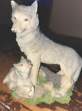New listing Wolves Statue